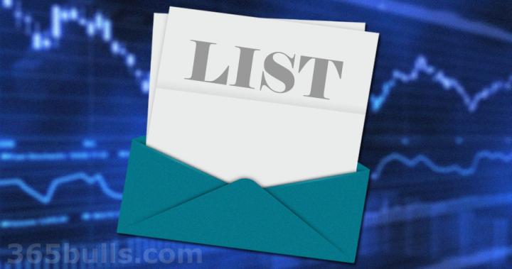 【日日牛】技術指標符合市場名單(最後更新日期:2019-01-09;資料來源日期:2019-01-08)