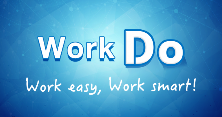 WorkDo擁有多項實用功能包括行動打卡、工作管理、專案管理、出缺勤管理公告、線上簽核、核銷、簽呈、會議通知等功能,