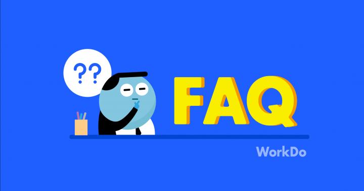 WorkDo | FAQ 一秒解決你的工作大小事