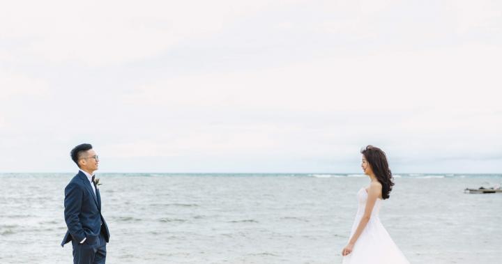 沖繩萬豪酒店婚禮 | A+B OKINAWA WEDDING | 美式婚禮-海外婚禮 |